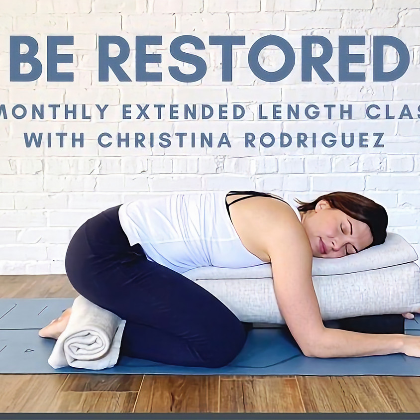 Be Restored Extended Length Class