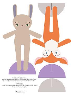 animaux de papier - dansereau - couleur-