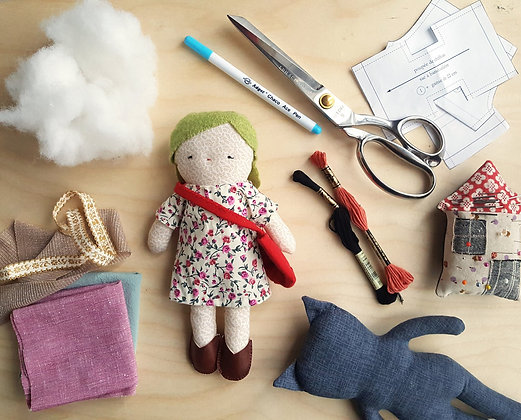 DOLL SEWING WORKSHOP