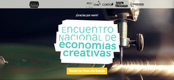 Sitio web congr. Economías Creativas