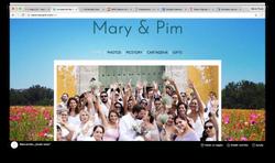 Sitio Web para matrimonio