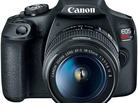 Canon EOS Rebel T7i w/ 18-55mm IS STM Digital SLR Camera Kit 1894C002