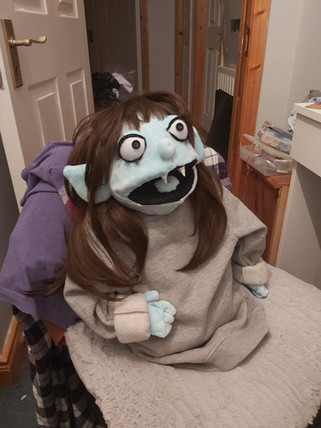 Muppet inspired puppet