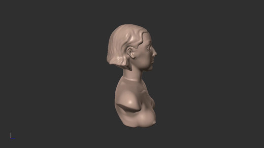 Head sculpt done in Forger for iPad
