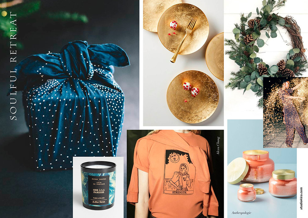 Green people - Xmas project - moodboards
