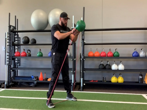 Monthly Movement #3 -  Banded Kettlebell Swing