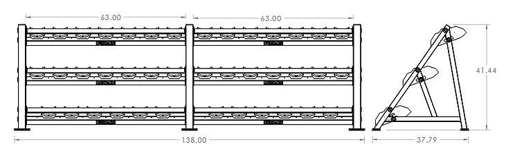 708097 3-tier saddle db storage drawing.