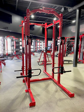 Titan G2 Athletic Training Arms and rack