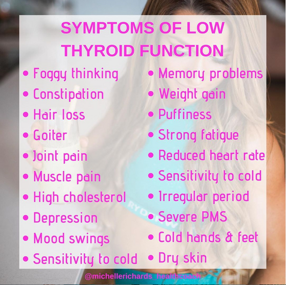 ARE YOU SUFFERING FROM AN UNDERACTIVE THYROID?