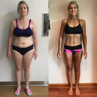 """This didn't happen over night, I'm a Mum of 2 young boys and I worked hard in the gym, and followed a tailored nutrition plan which was structured by my coach. I had moments where I ate badly and I was unmotivated but I just kept on going and set myself small achievable goals along the way! I am exteramly proud of my results I have achieved, not only am I healthier, I am so much happier, this wasn't just another diet for me it was about creating a lifestyle change for me and my family!! Thank you @michellerichards_healthcoach @samyzest1 & @thebasetransformations team you guys really do know your stuff if anyone wants to make a change please go see these guys not only did they help me achieve amazing results they have become like family and I am looking forward to with there guidance building some more muscle and becoming stronger and fitter."""