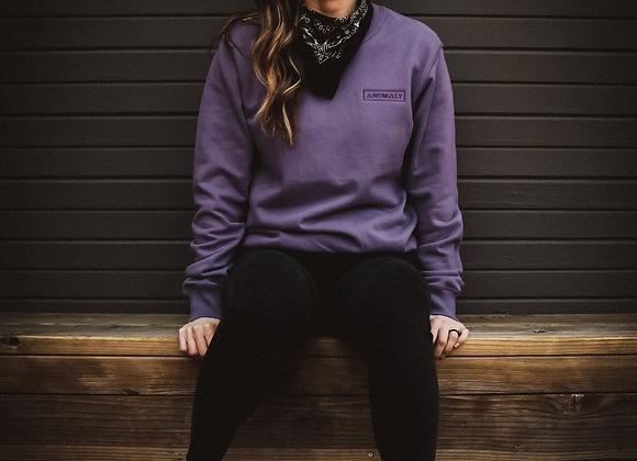 Glyph Crew Sweater (Amethyst)
