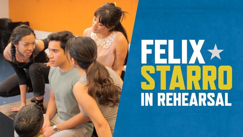 Felix Starro In Rehearsals