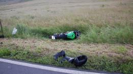 18. Juni 2016 - Motorradfahrer bei Verkehrsunfall schwer verletzt