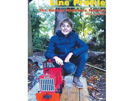 We feature in Miniature Railway magazine!