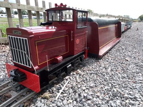 Visiting the Bath & West Miniature Railway