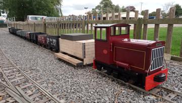 A weekend at the duel gauge ESSMEE Bath & West Railway.
