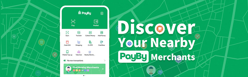 Discover Your Nearby PayBy Merchants-Ban
