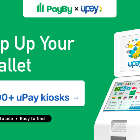 PayBy serves underbanked with uPay partnership