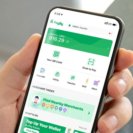 PayBy app is now on Abu Dhabi Pay, facilitating contactless payment for government services