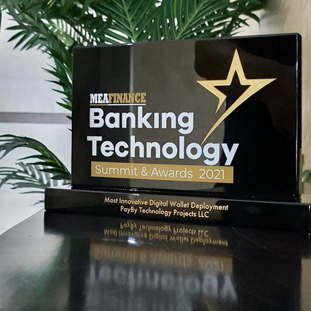 PayBy is awarded as the Most Innovative Digital Wallet Deployment by MEA Finance Magazine
