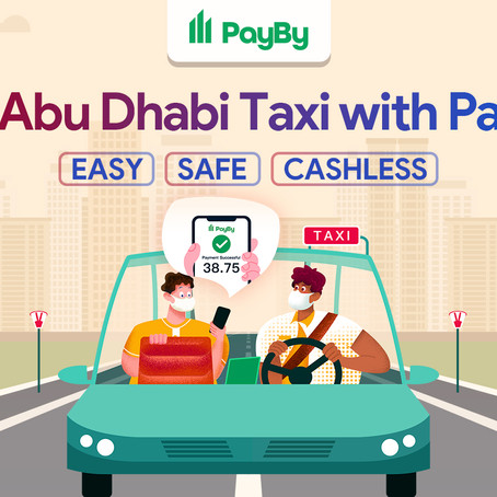 PayBy is accepted for Abu Dhabi taxi fares