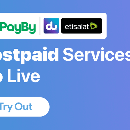 Etisalat and du postpaid plan services are live!