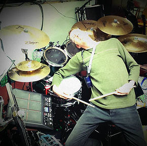 Brian Malone The Chuck Taylors On Drums