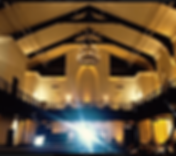 The transept uplighting rental