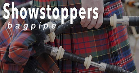Showstoppers bagpipe