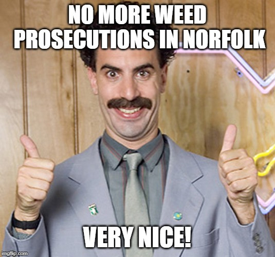 Can I smoke weed in Norfolk? Supreme Court Kills Our Buzz