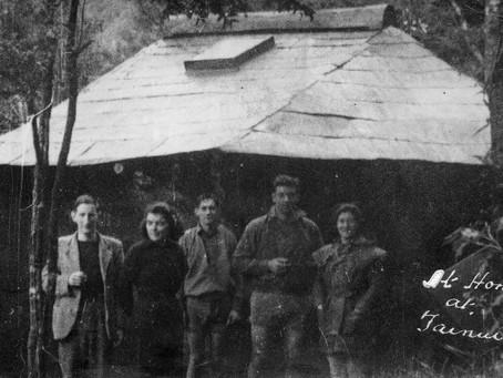 Tainui Hut - a bygone era