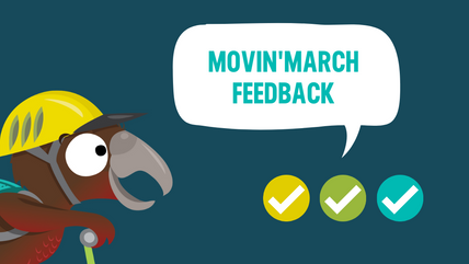 Movin'March Feedback 2021