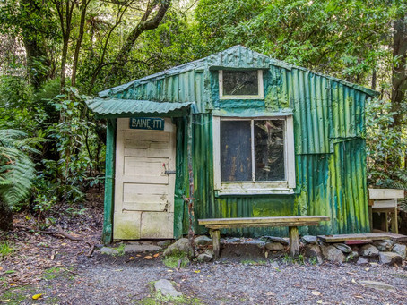 A Short History of Huts in the Orongorongo Valley