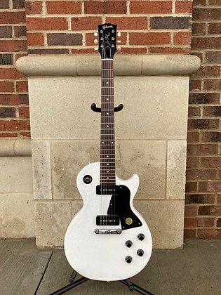 Gibson Les Paul Special Tribute P-90 - Worn White Satin
