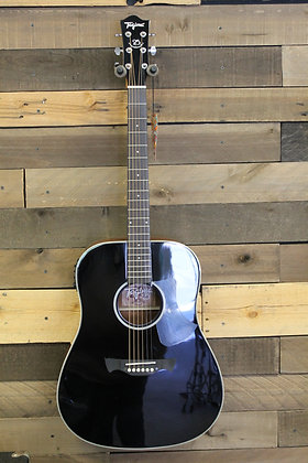 Tagima Acoustic/Electric Dreadnought Guitar in Black