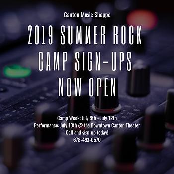 2019 Summer Rock Camp Advertisement.png