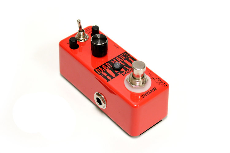 Outlaw Effects Dead Mans Hand 2-Mode Overdrive | canton-music-shoppe