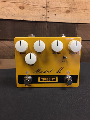 Used Tone City Model M Overdrive/Distortion Pedal