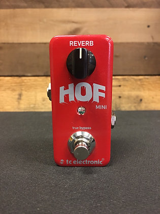 Used TC Electronic Hall of Fame Mini Reverb Pedal