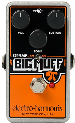 Electro-Harmonx Op-amp Big Muff Pi Fuzz Pedal
