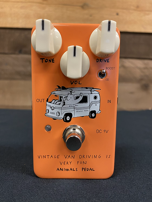 Animals Pedal Vintage Van Driving Is Very Fun Overdrive