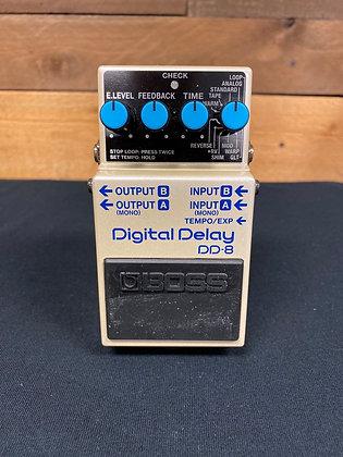 Used Boss DD-8 Digital Delay/Looper Pedal
