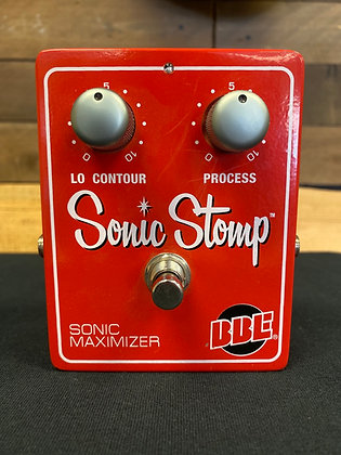Used BBE Sonic Stomp Sonic Maximizer Pedal