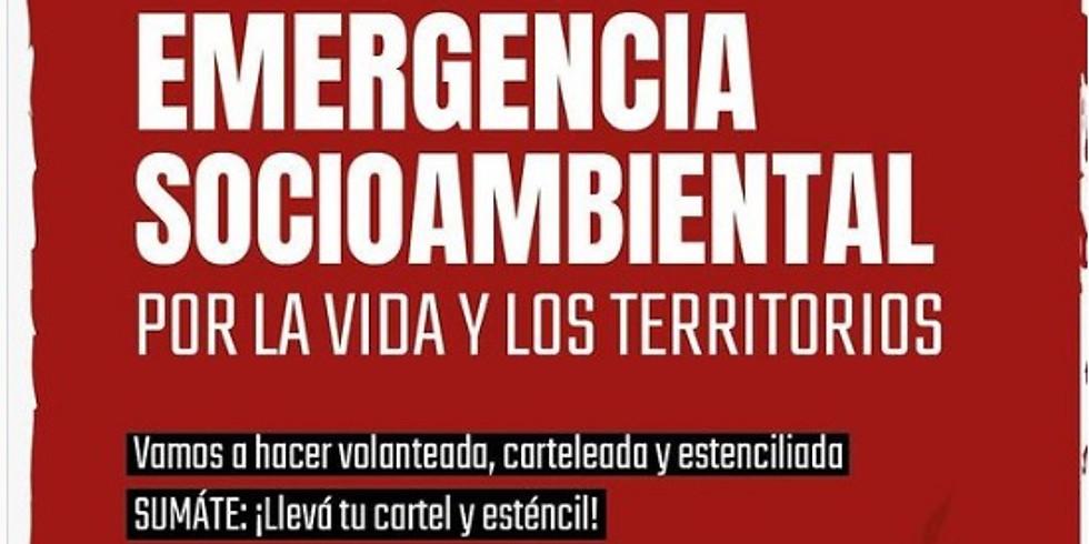 """Emergencia socioambiental: """"por la vida y los territorios"""""""