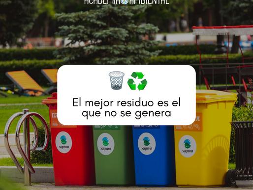 ¿Cuáles son los beneficios sociales de gestionar correctamente los residuos?