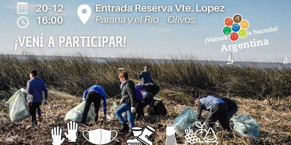 Limpieza de fin de año - Vicente López