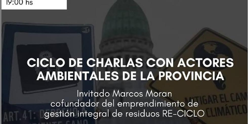👑 Entre Ríos y activismo ambiental: Ciclo de charlas con actores ambientales de la provincia.