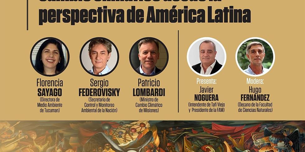 """Conversatorio: """"Desarrollo y cambio climático desde la perspectiva de América Latina"""""""