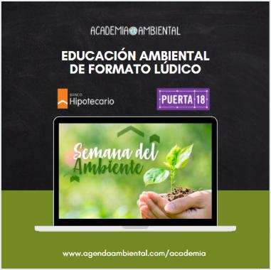 Educación Ambiental junto al Banco Hipotecario