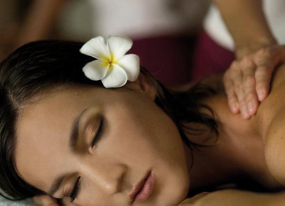 Massage 40min + Soin visage 30min